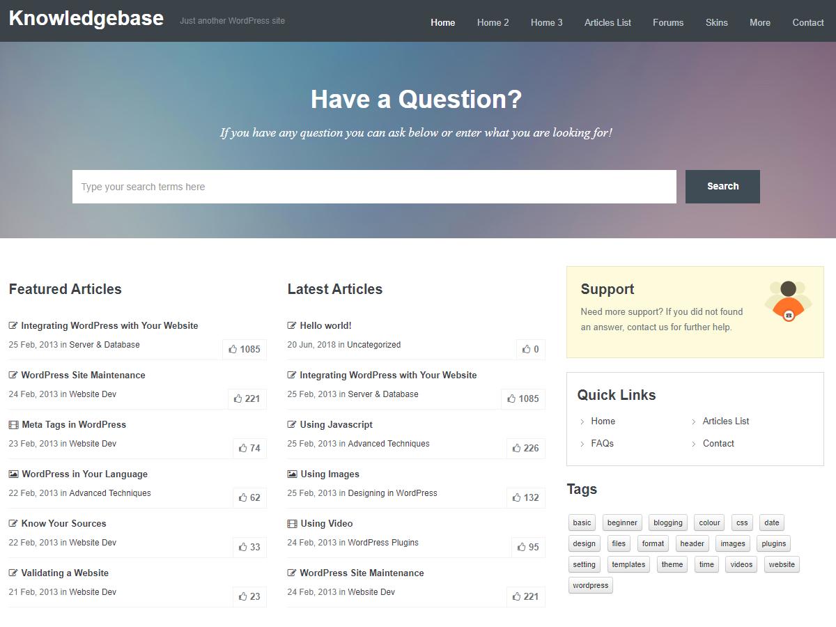 inspiry knowledgebase